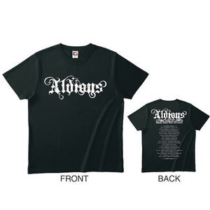 「Aldious Japan Tour 2015-2016」 Tシャツ(BLACK)