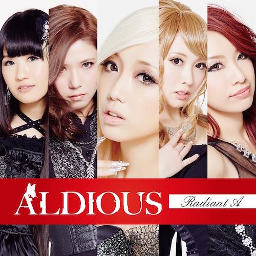 【50パーセントOFF】Aldious 5thアルバム『Radiant A』DVD付限定盤(CD+DVD)