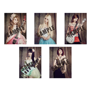 Aldious「Female Warrior」 B2ポスター 5枚セット