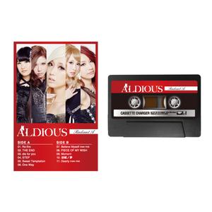 Aldious カセットテープ型モバイルバッテリー
