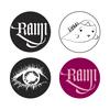 【最終セール】RAMI マグネット4個セット