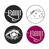 RAMI マグネット4個セット