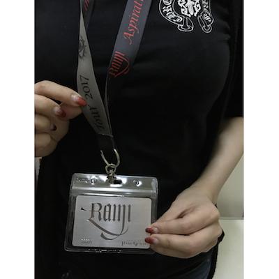 【最終セール】RAMI ツアーネックストラップ