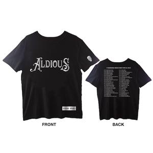 Aldious Tour 2017 新ツアーTシャツ (シルバーラメプリント)