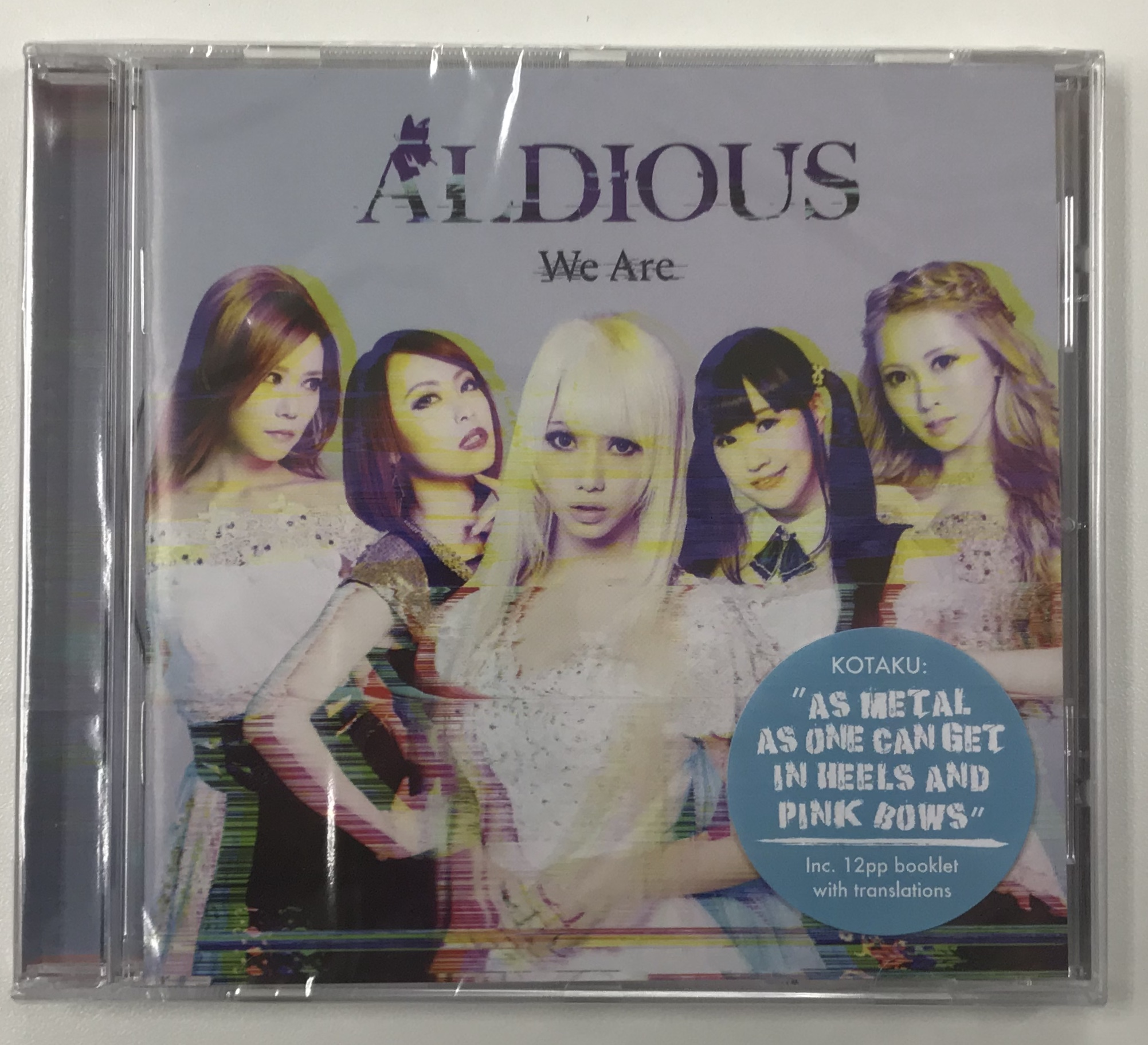 【輸入盤CD】 Aldious 『We Are』(+4 Bonus Tracks)
