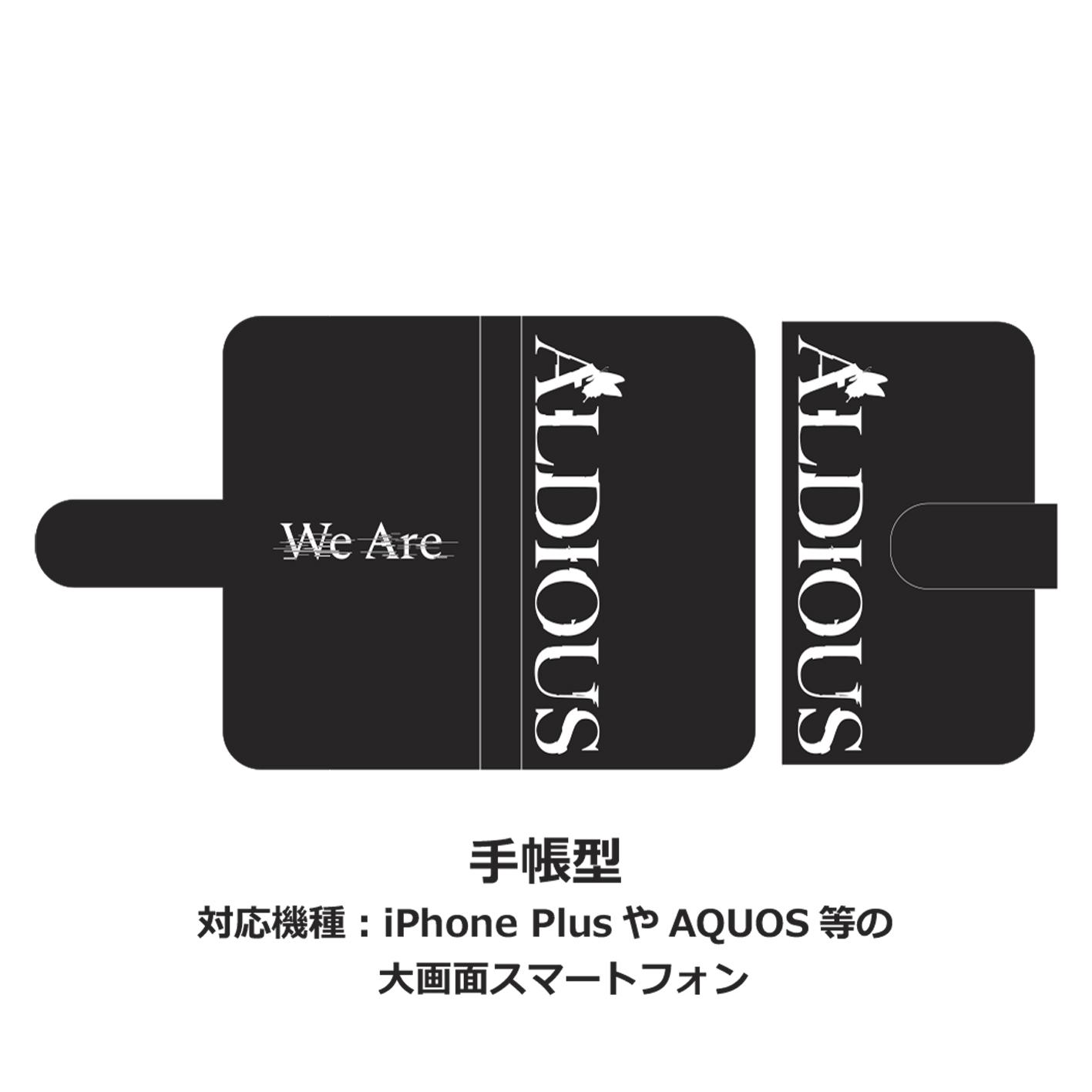 Aldious 手帳型スマホケース「We Are」