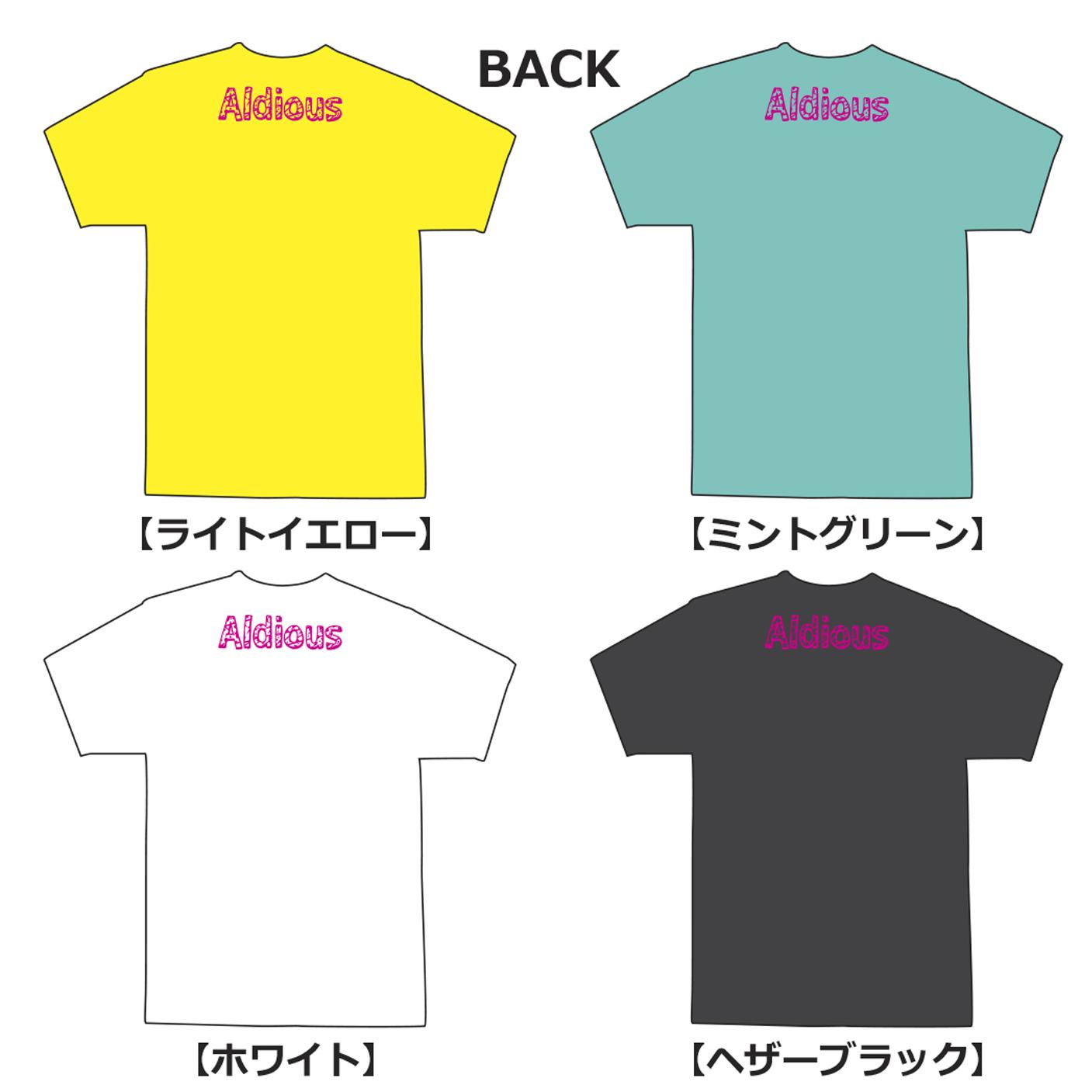Aldious イラストTシャツ