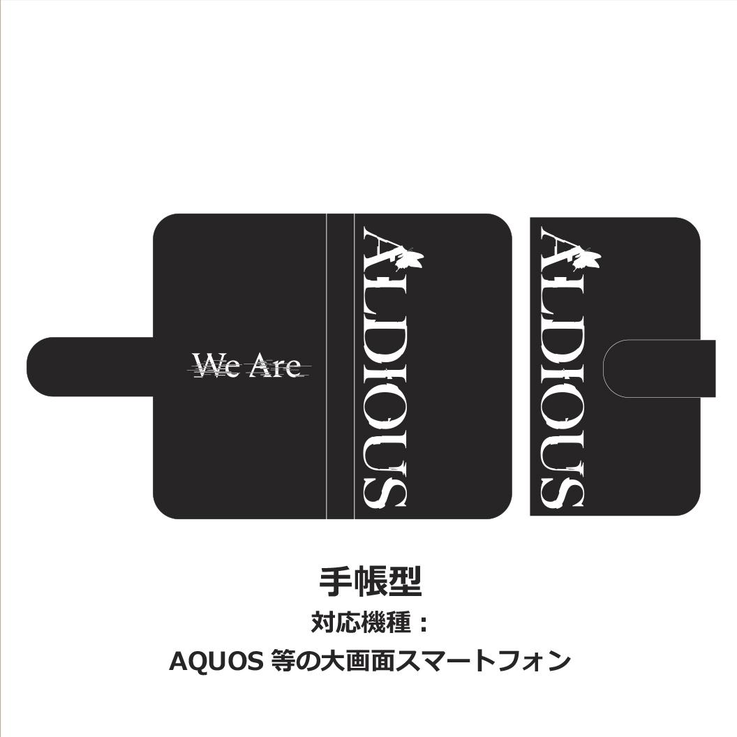"""【バレンタインセール】Aldious 手帳型スマホケース """"We Are"""""""