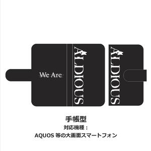 """Aldious 手帳型スマホケース """"We Are""""【バーゲンセール】"""
