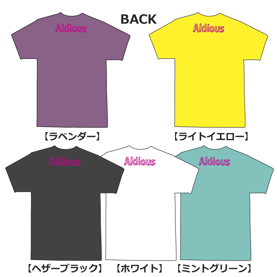 Aldious イラストTシャツ 新色ラベンダー
