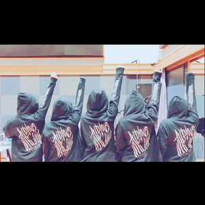 """Monster"" 刺繍パーカー【バーゲンセール】"