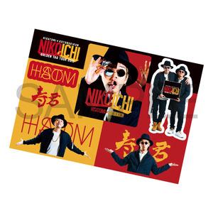 HISATOMI & 寿君「NIKOICHI ゴールデンタッグ・ツアー2015 ステッカーシート」