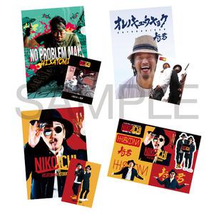 HISATOMI & 寿君「NIKOICHI ゴールデンタッグ・ツアー2015 ステッカーシート&A4クリアファイル(3点セット)」