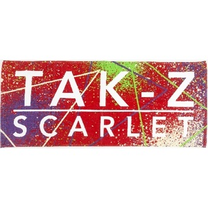 TAK-Z TOWEL -SCARLET- (RED)