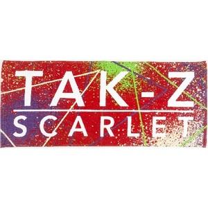TAK-Z TOWEL -SCARLET- (RED)