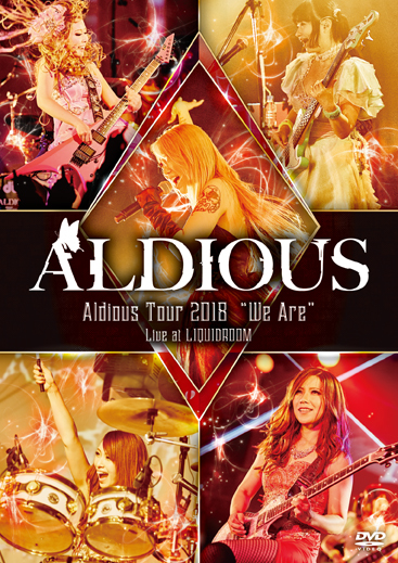 "【50パーセントOFF】Aldious ライヴDVD(2018年)『Aldious Tour 2018 ""We Are"" Live at LIQUIDROOM』"