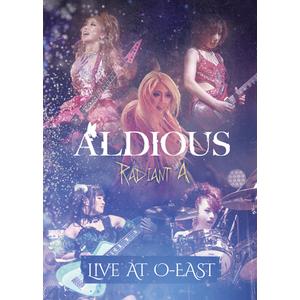 【50パーセントOFF】Aldious ライヴDVD(2016年)『Radiant A Live At O-EAST』