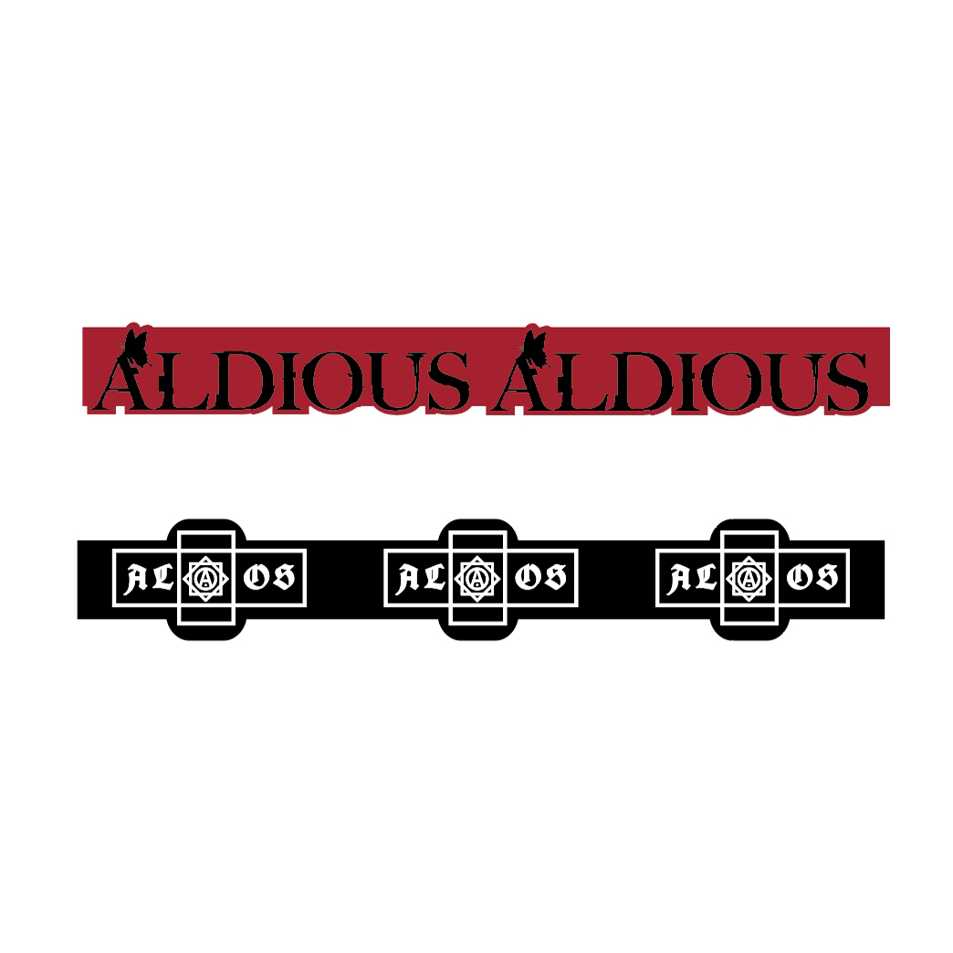 Aldious シリコンバンド (2個セット)