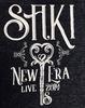 """SAKI """"New Era LIVE"""" 2019 開催記念Tシャツ"""