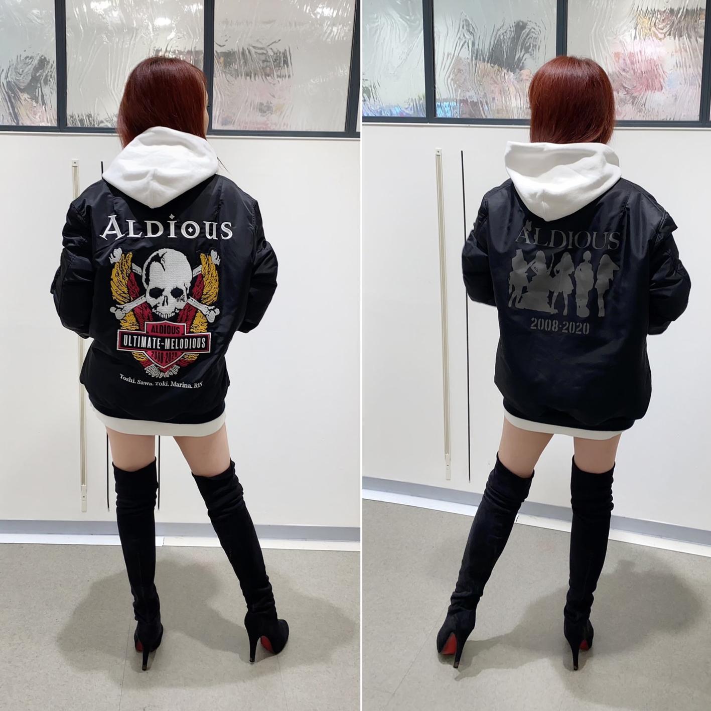 Aldious結成12周年記念「Aldious MA-1 JACKET」