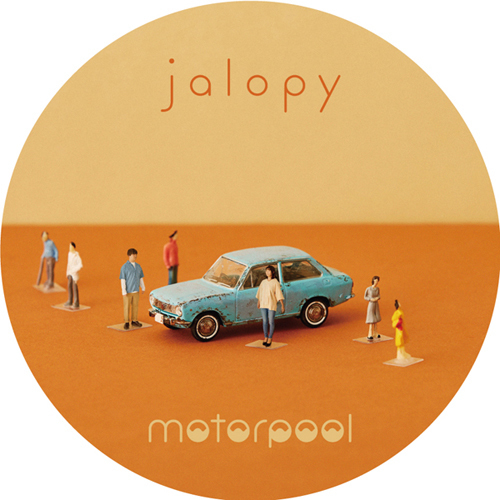 "motorpool 缶バッジ ""jalopy"" -Aセット-"