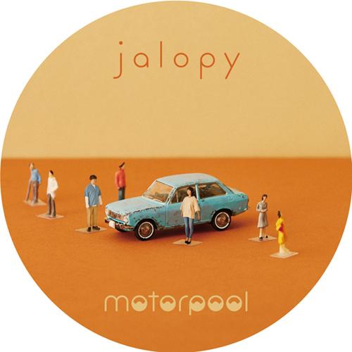 "motorpool 缶バッジ ""jalopy"" -Bセット-"