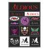 Aldious結成12周年記念 メモリアルステッカーセット