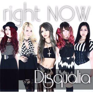 【24パーセントOFF】Disqualia ミニアルバム『right NOW』(CD)※再入荷済