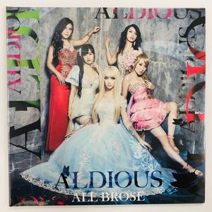 【完全限定アナログ盤】Aldious『ALL BROSE 』(全世界500枚限定生産)※最終在庫3枚