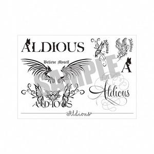 Aldious タトゥーシール (デザイン8種類入り)【12/26(土)お昼12時~セール開始】