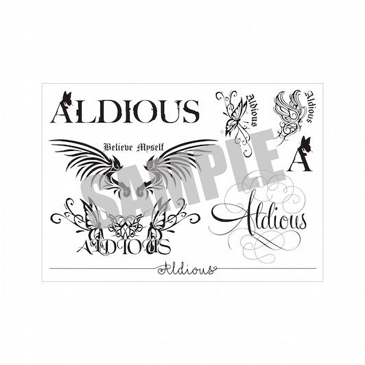 Aldious タトゥーシール (デザイン8種類入り)【バーゲンセール】
