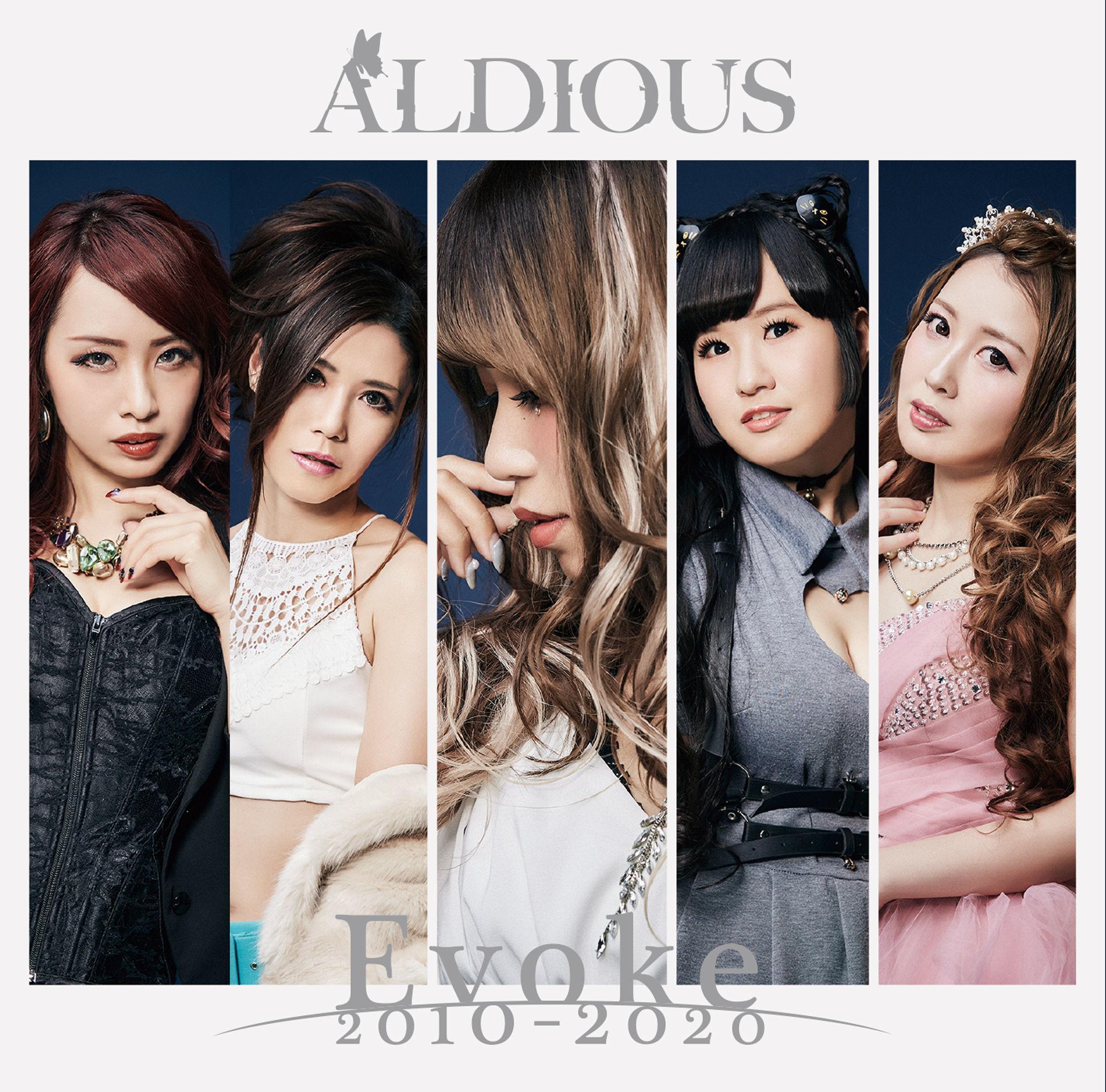 【30パーセントOFF】Aldious 7thアルバム『Evoke 2010-2020』通常盤(CD)
