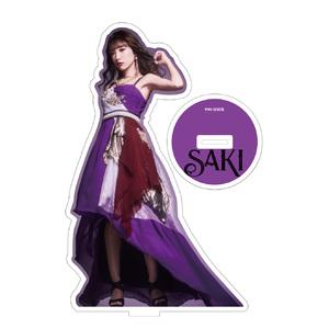 SAKI 無観客ライヴDVD発売記念 SAKI直筆サイン入りアクリルフィギュア