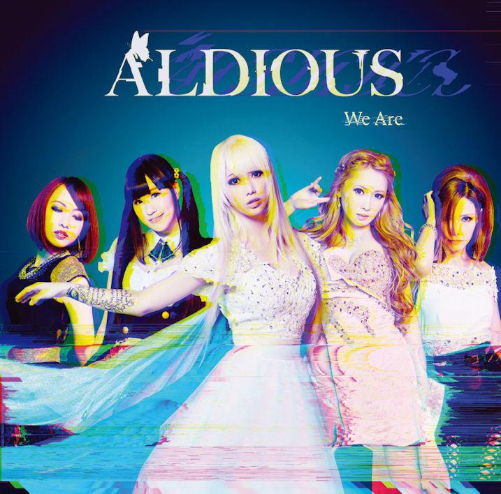 【50パーセントOFF】Aldious 1stミニアルバム『We Are』DVD付き限定盤(CD+DVD)