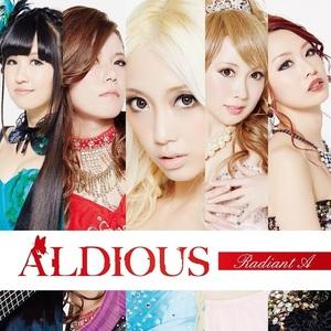 【50パーセントOFF】Aldious 5thアルバム『Radiant A』TSUTAYA限定盤(CD+DVD)