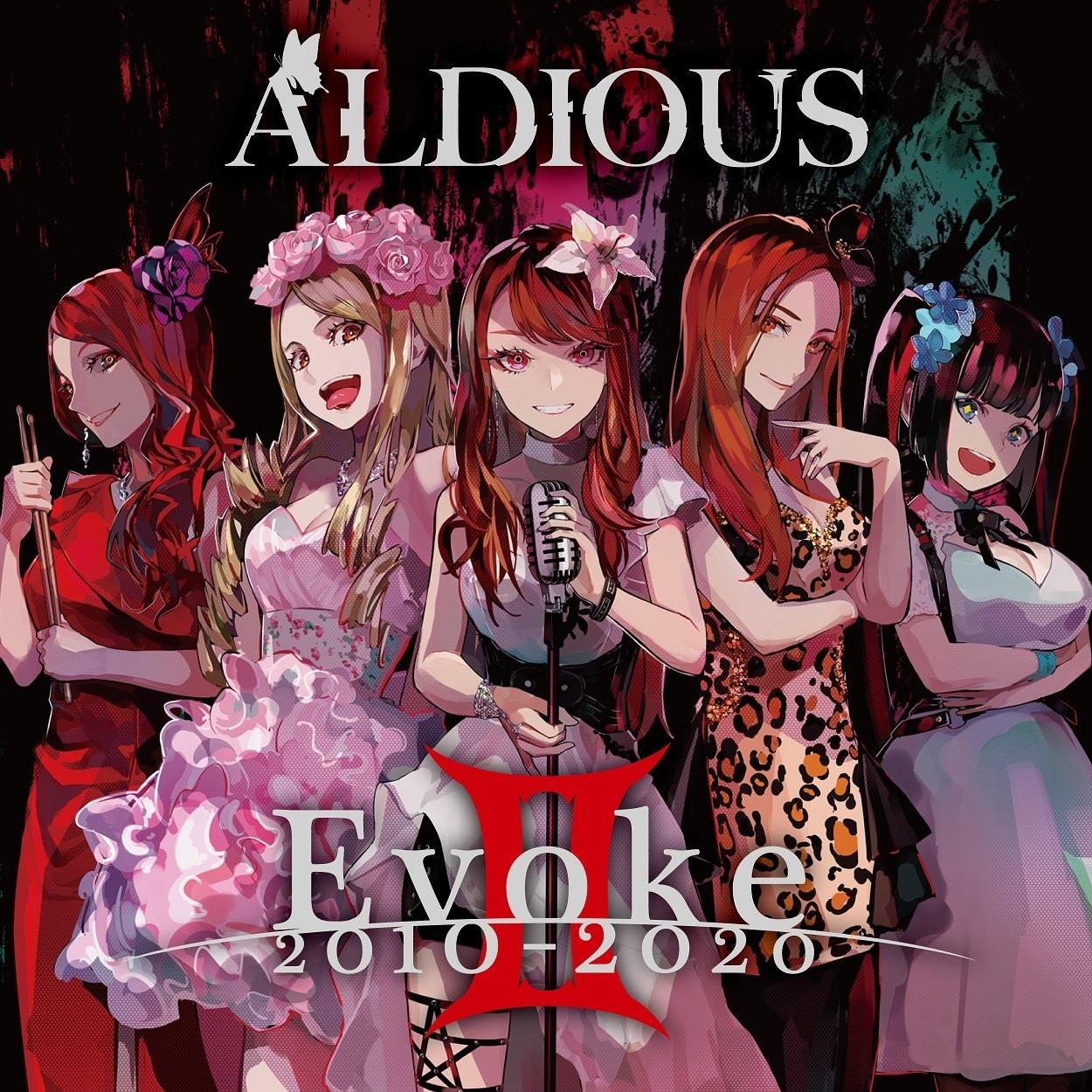 【輸入盤(CD)】Aldious 8thアルバム『EvokeⅡ 2010-2020』